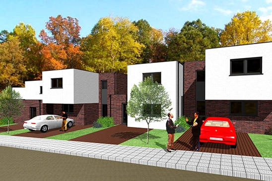 Lv architecture│bureau architecture à mons architecte paysagiste